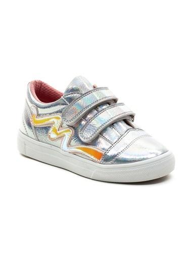 minipicco Kız Cocuk Ortopedik Destekli Çocuk Ayakkabı Gümüş